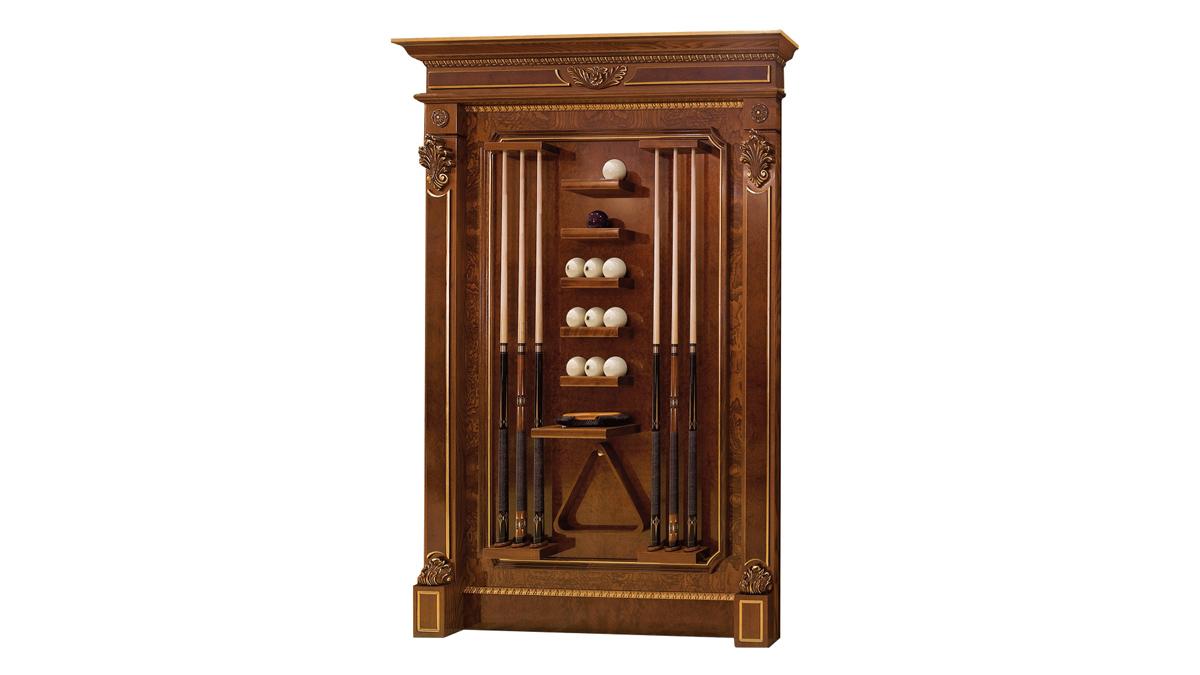 Leone Luxury Billiard Table cue holders