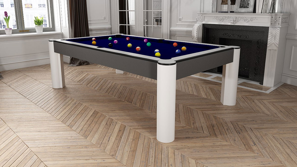 Madrid Pool Table with bands waves