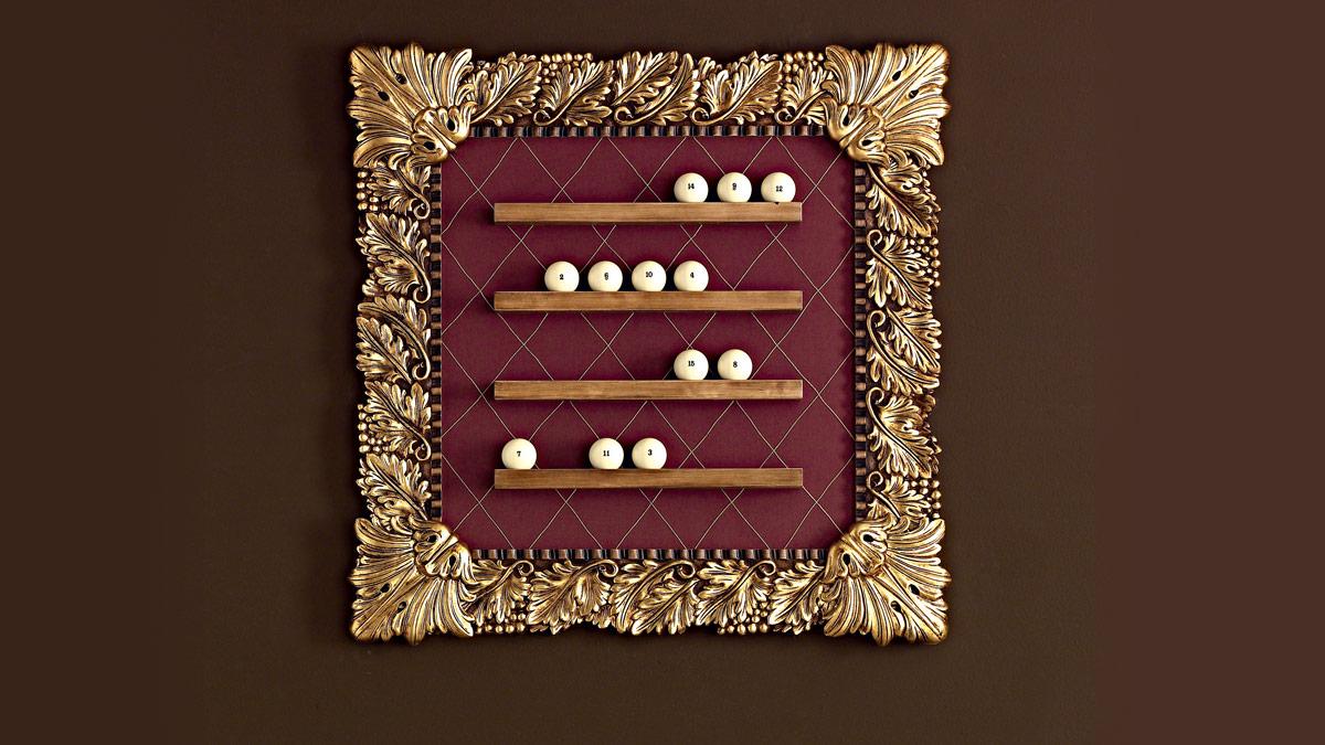 Olga Luxury Billiard Table ball holders