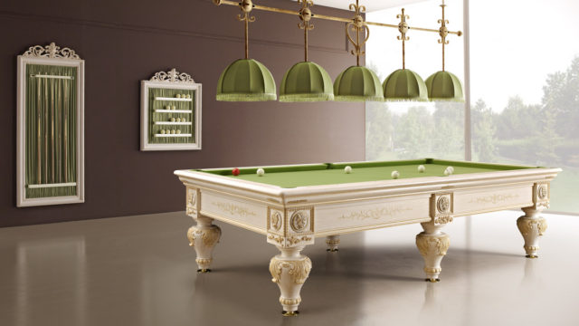 Romantico Luxury Billiard Table