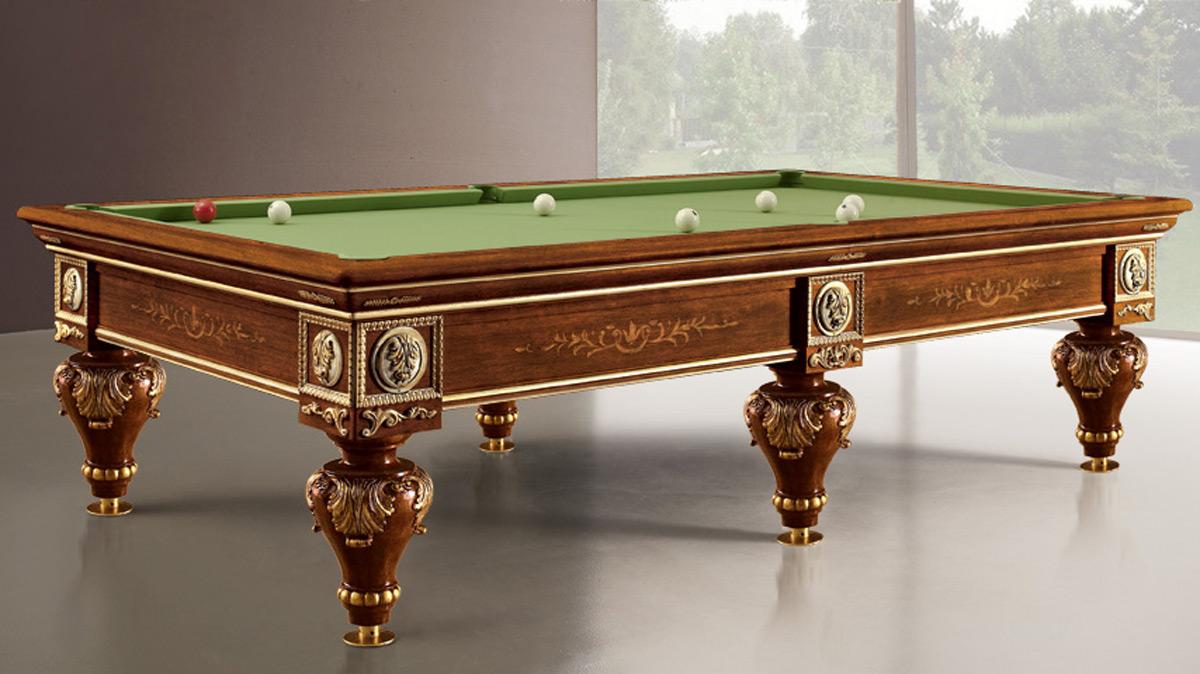 Romantico solid wood Luxury Billiard Table