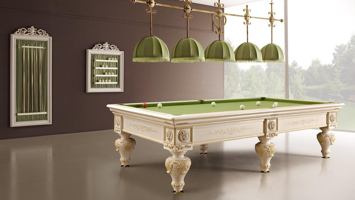 Romantico Luxury Billiard Table