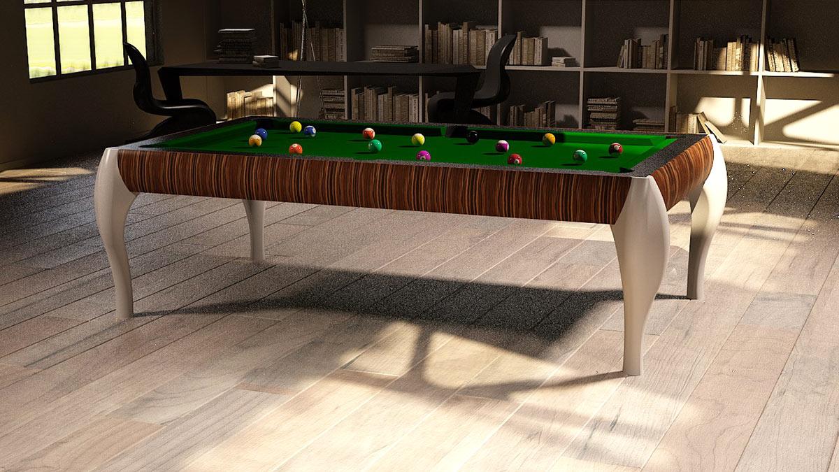 Atene customizable Pool Table