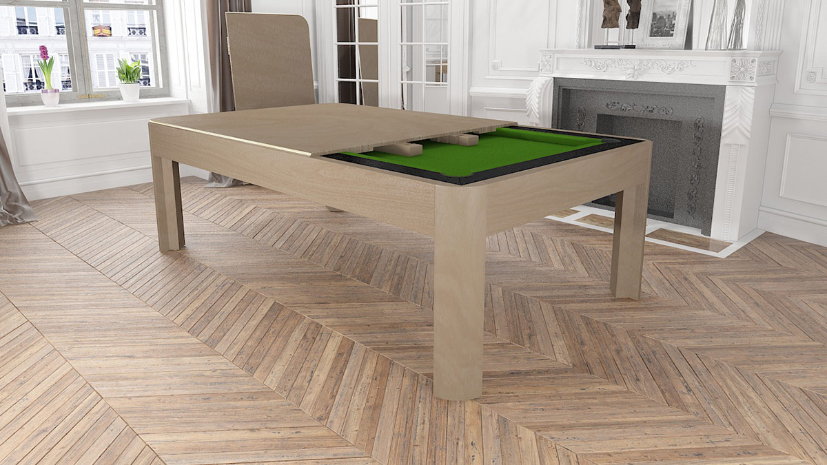 Berlino modern and lacquered wood Pool Table