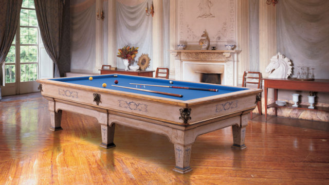 Napoleone Luxury Billiard Table varnished
