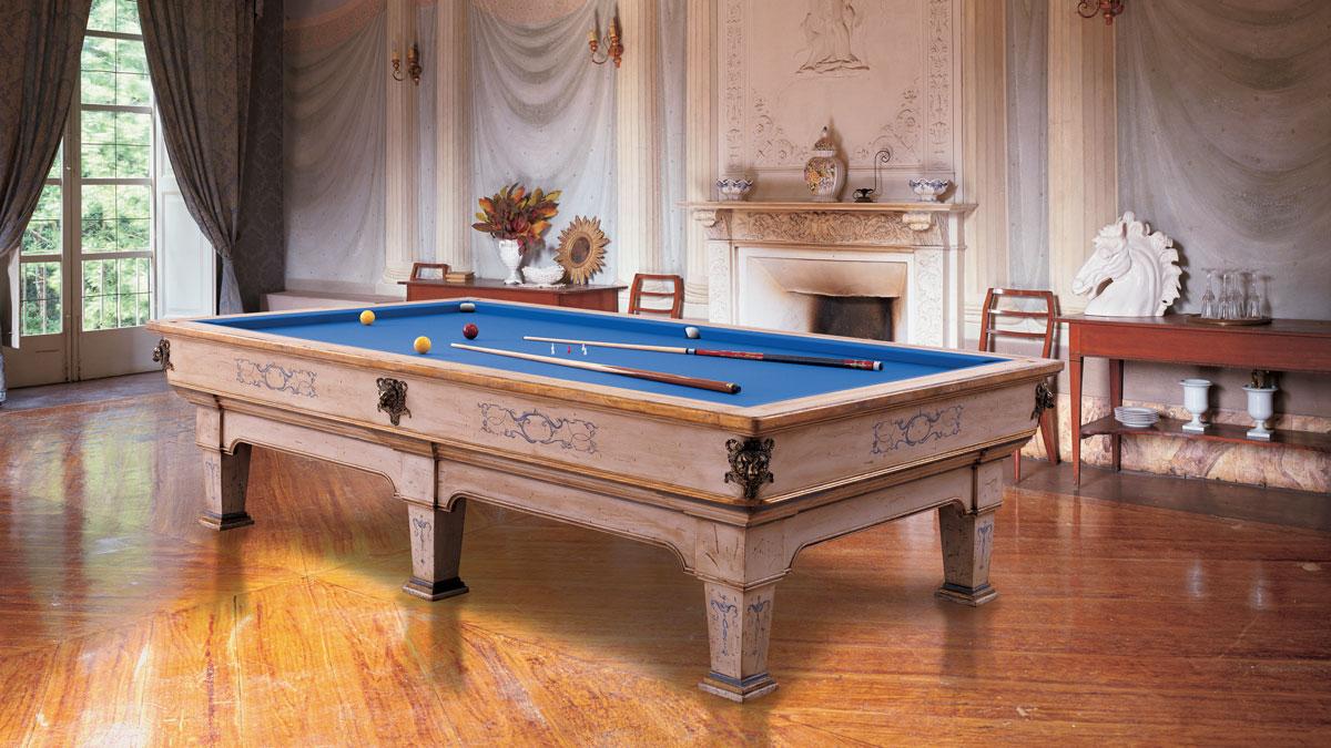Napoleone Luxury Billiard Table varnished