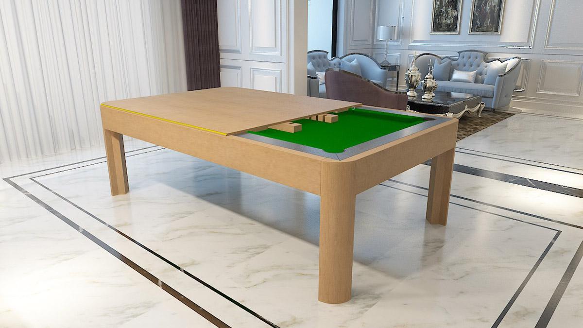 Berlino solid wood Pool Tables