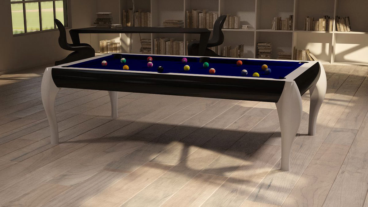 Atene Pool Table with snooker